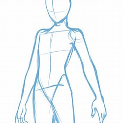 Anime Poses Reference Full Body Male Drawing Base