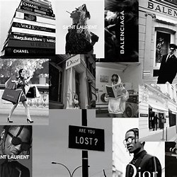Aesthetic Macbook Wallpaper Collage Black And White