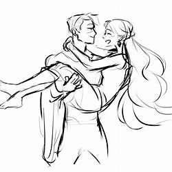 Drawing Reference Couple Carrying Poses
