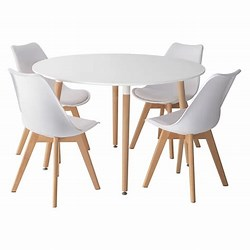 Table Ronde Avec Chaise