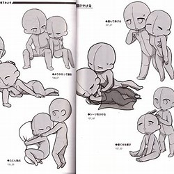 Couple Poses Reference Duo Drawing Poses