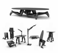 Artistic Human Furniture from Dzmitry SAMAL | Novo Designs ...