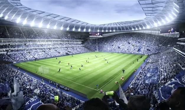 Jogadores do Tottenham conhecem novo estádio com realidade virtual