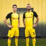 Borussia Dortmund lança fardamento para competições internacionais
