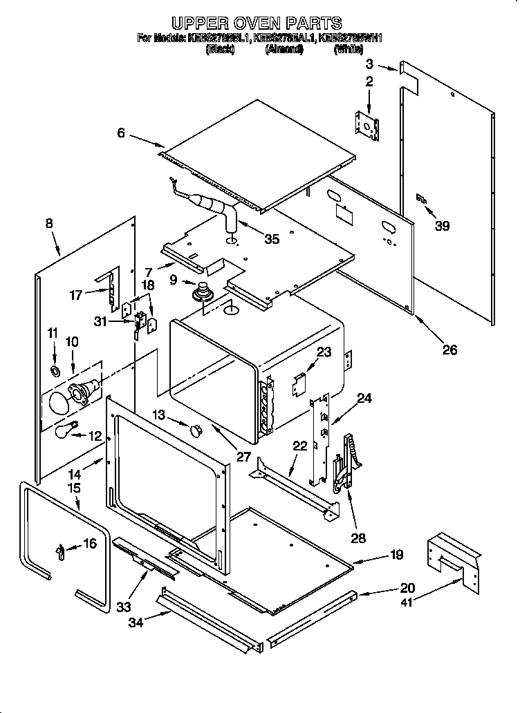 Kitchenaid Superba Oven User Manual