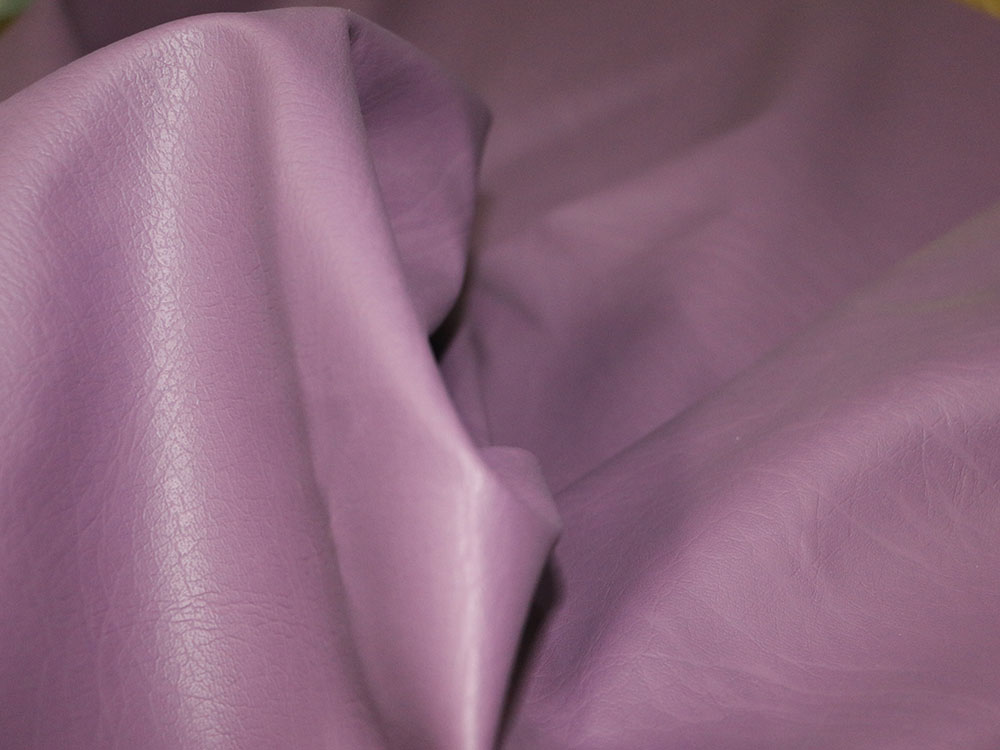 Purple Faux Leather
