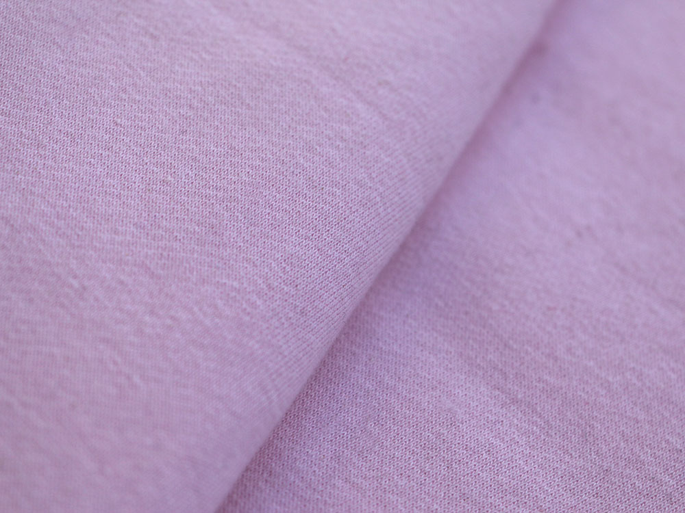 Baby Pink Cotton Fleece