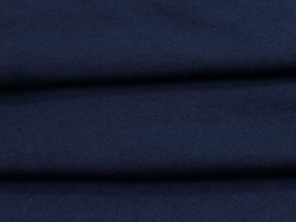 Navy Cotton Fleece