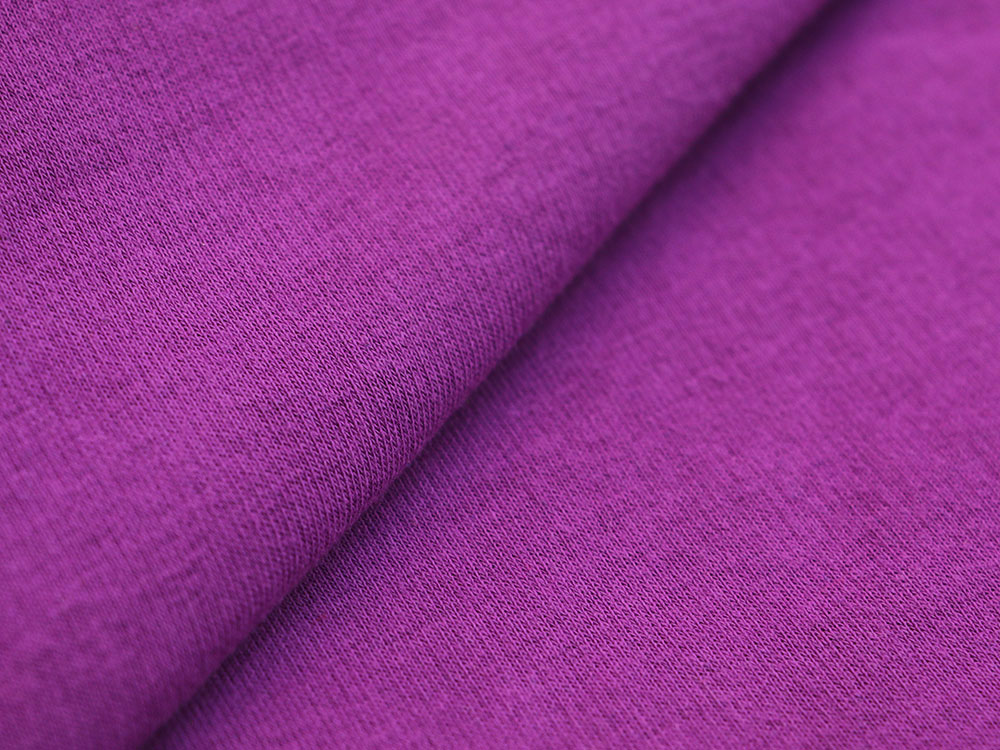 Purple Cotton Fleece