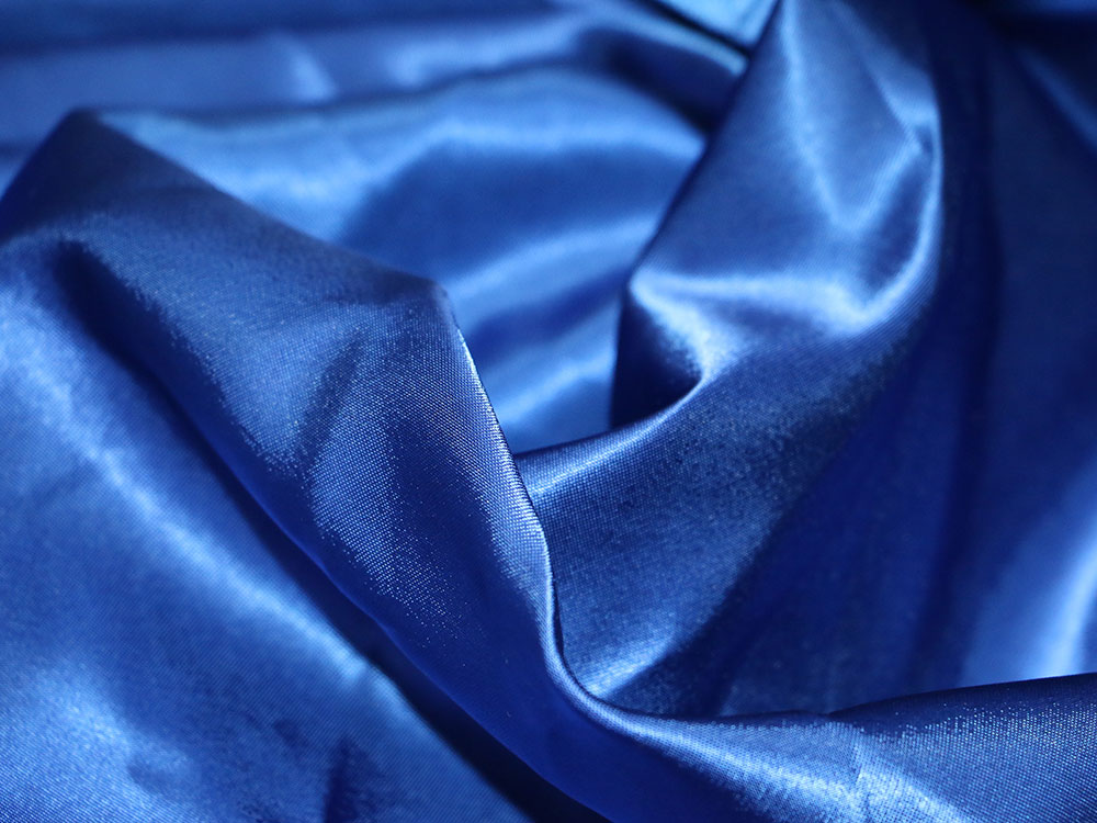 Royal Blue Satin