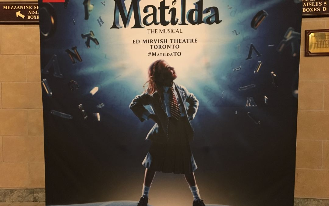 On Stage Now: Matilda the Musical