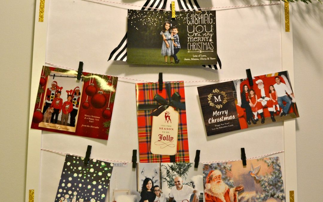DIY: Christmas Card Display Frame (and an IKEA hack)