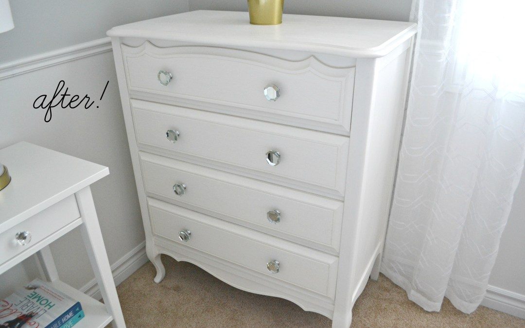 DIY: Making an Old Dresser New Again