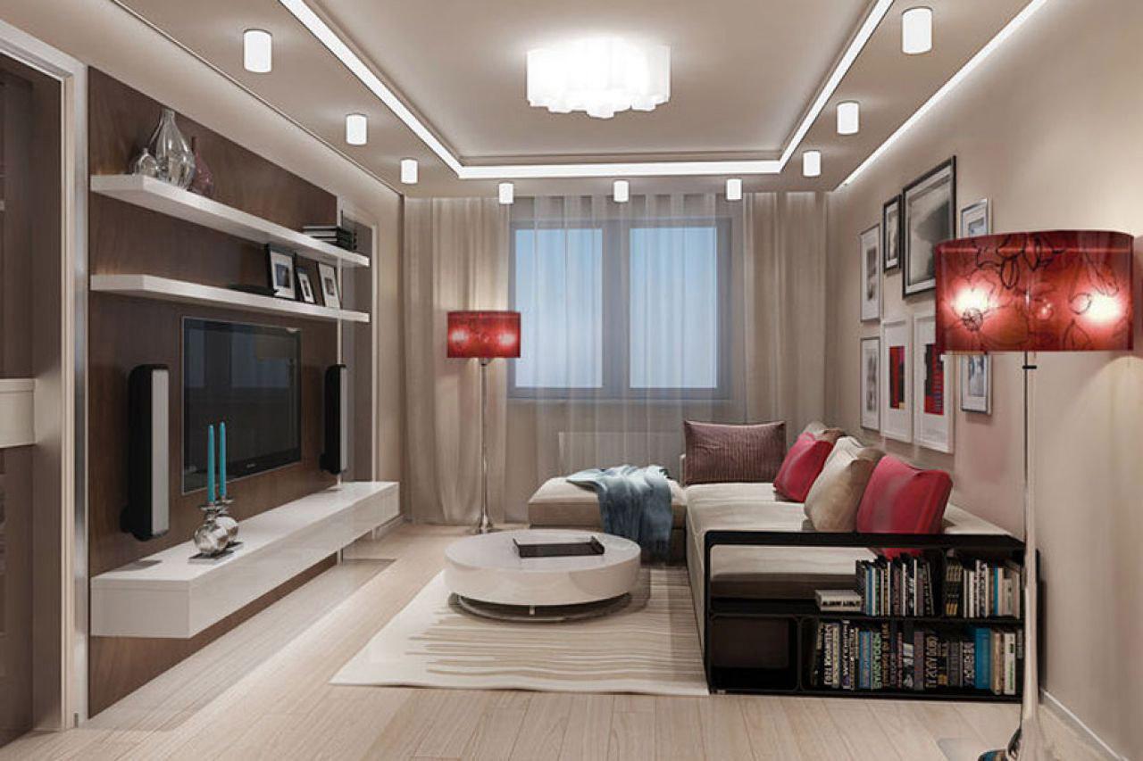 Дизайн гостиной 20 кв м — фото интерьеров гостиной