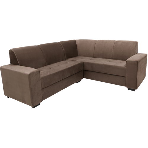 sofa cama usados distrito federal crate and barrel great giveaway com chaise de canto retratil e mais novo mundo 2 3 lugares tecido suede montreal zeus
