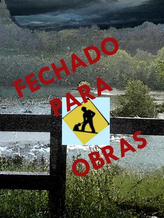 FECHADO PARA OBRAS