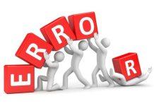 Maiores Erros na Área de Vendas