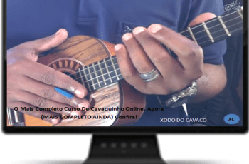 NOVO Curso Como Tocar Cavaquinho 2.0 – Xodó do Cavaco