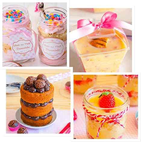 Curso de Bolos no Pote: Fature com doces deliciosos