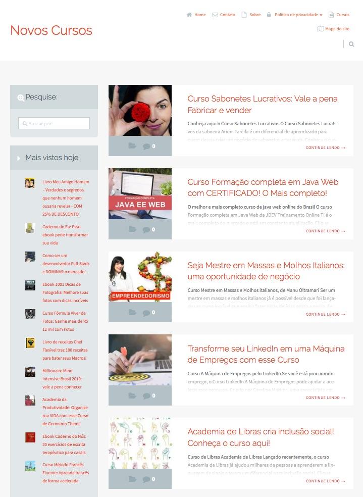 sites com tema epico