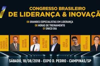 5º Congresso Brasileiro de Liderança e Inovação em Campinas: VOCÊ LÍDER