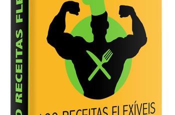 Livro de receitas Chef Flexível traz 100 receitas para bater seus Macros!