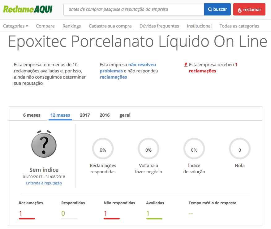 epoxitec porcelanato liquido 3d online reclame aqui