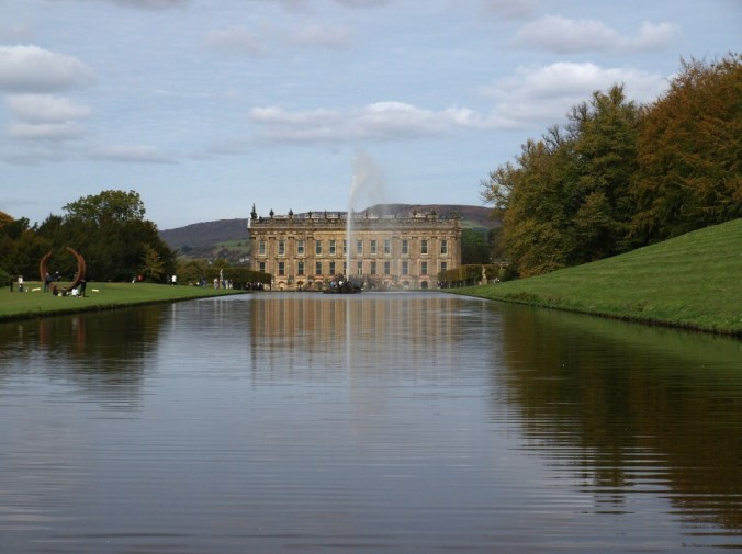 Literary travel tips: Chatsworth House in England.
