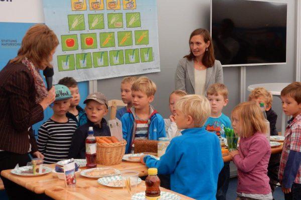 Aktionstag zur Bio-Brotbox auf der NORLA