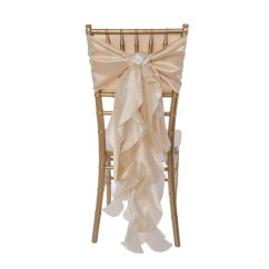 Where To Buy Chair Sashes White Glider Curly Willow Sash Novus Events