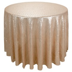 Sequin Chair Covers Uk Ergonomic Portland Oregon Round Champagne Gold Table Cloth Novus Events
