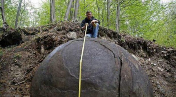 В Боснии нашли древний неизвестный гигантский шар