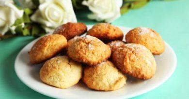 Как приготовить печенье с кокосовой стружкой