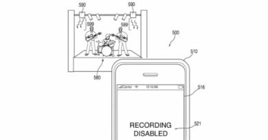 Apple патентует технологию, которая ограничит съемку в запрещенных местах