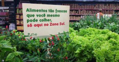 «Сбор урожая» прямо в супермаркете!