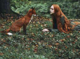 8 Лесная фотосессия: Рыжеволосые красавицы