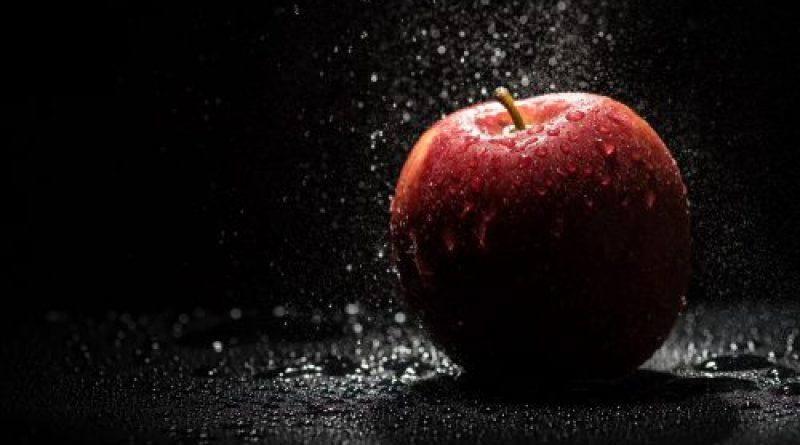 флешмоб с яблоками