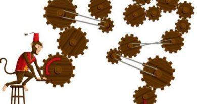 Разминка для мозга: какой цифры коснётся указатель?