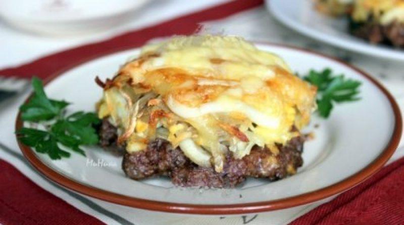Стожки - блюдо из мясного фарша.