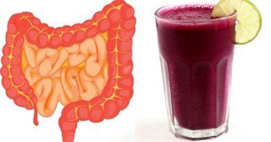 Мощный напиток, приготовленный из 5 Ингредиентов, радикально очистит кишечник!