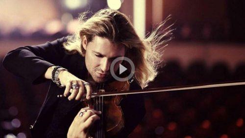 «Чардаш» в исполнении самого быстрого скрипача в мире - Дэвида Гарретта