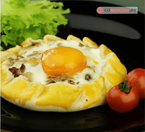 Галеты с грибами: Питательный завтрак с ароматом грибов, способный поднять с кровати любого соню!