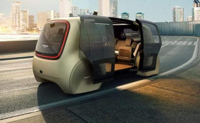 Volkswagen представил беспилотный концепт-кар Sedric