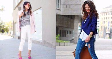 Стильные цветные джинсы 2017 - 2018: фасоны, новинки.