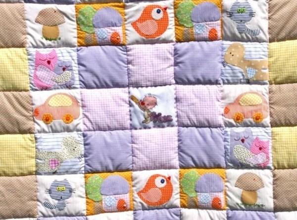 Детское развивающее одеяло-панно