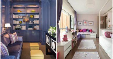 5 практичных советов как сделать узкую комнату удобнее