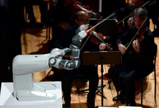 Робот-дирижер смог управлять оркестром