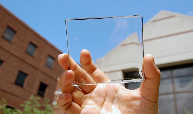 В США разработали прозрачные солнечные батареи