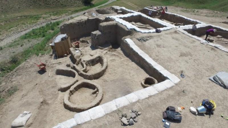 Раскопки в Гадачрили-гора