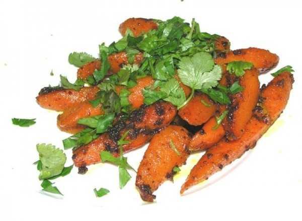 Рецепт приготовления моркови по-индийски
